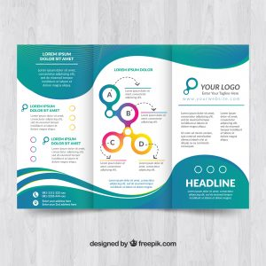 24 hour Folded Flyers printing London